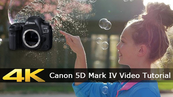 Transcode Canon 5D Mark IV 4K video