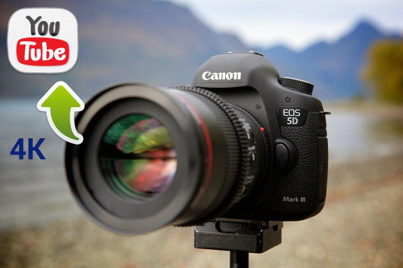 Share 5D Mark IV 4K to YouTube