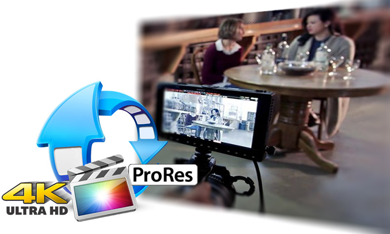 convert 4k prores from pix e5 to mp4/avi