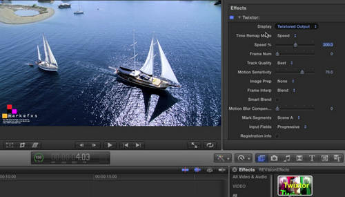 Edit video in FCP
