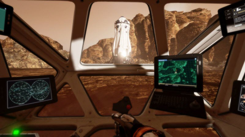Martian VR version
