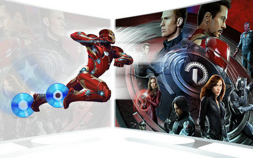 Stream Blu-ray to TV