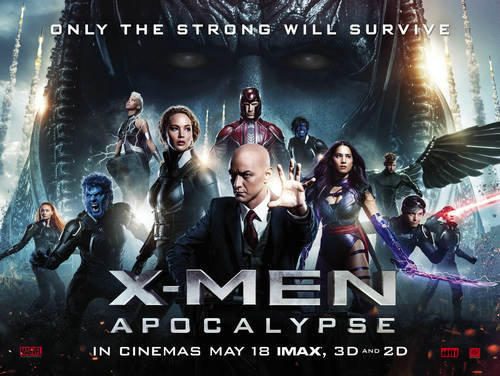 x-men apocalype blu-ray movie