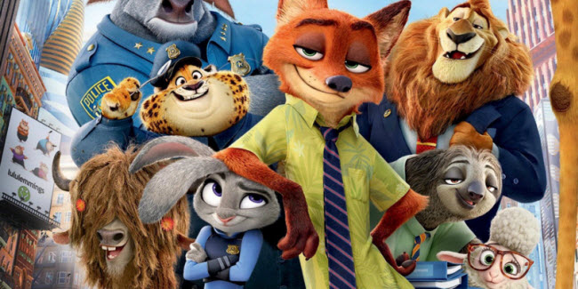 zootopia bluray movie