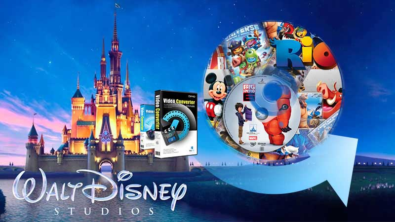 rip Disney DVDs with best DVD ripper
