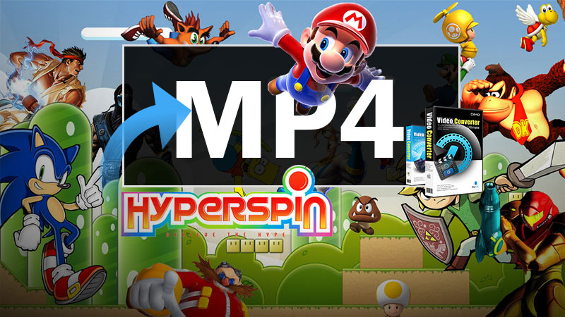 play MP4 with HyperSpin