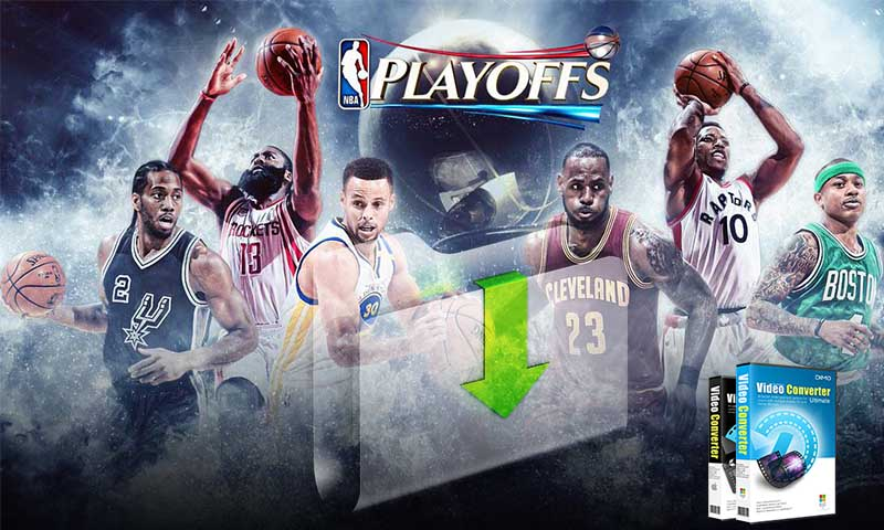 best way to download NBA finals/playoffs videos