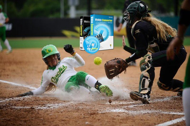 download NCAA softball game video