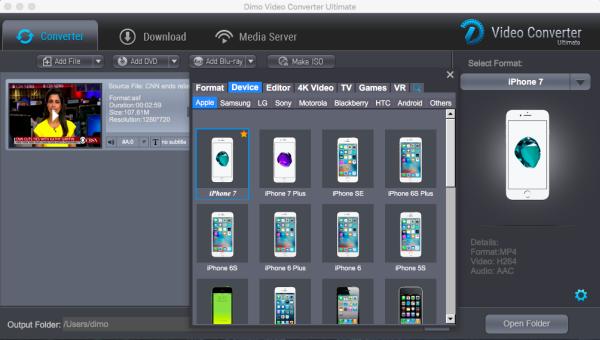 iPhone Video/Audio Format