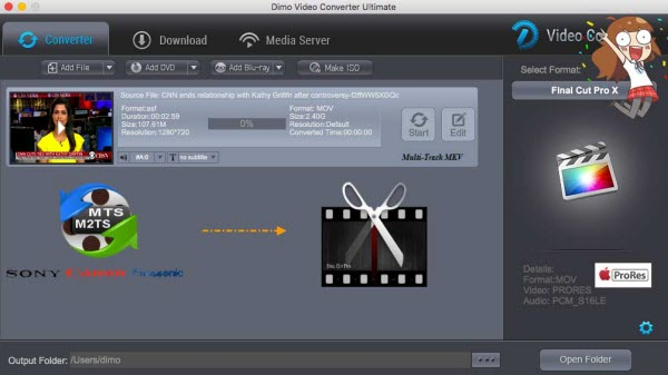 MTS to FCP Converter