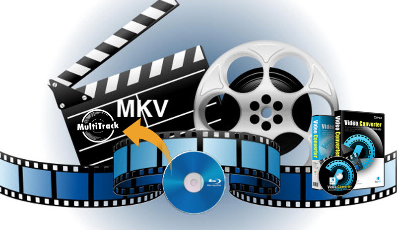 Fastest Blu-ray to Multi-track MKV Converter