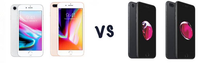 iPhone X/8/Plus vs iPhone 7/Plus
