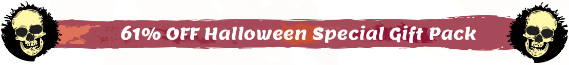 61% OFF Bundle Discount for Halloween Holiday