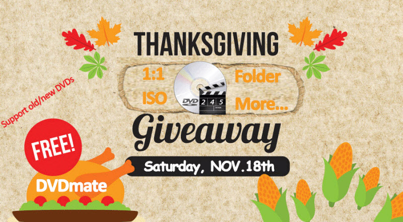 Buy video converter at Thanksgiving Giveaway