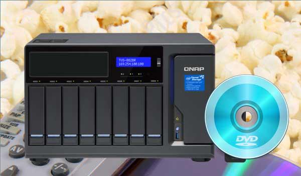 Store DVD to NAS