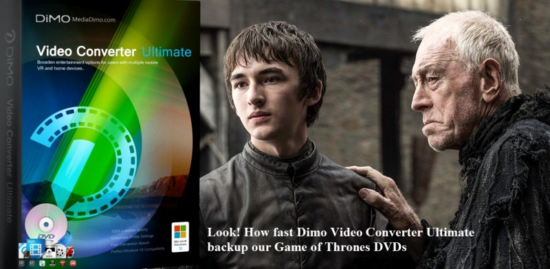 Game of Thrones DVDs release soon! Wanna backup DVD to digital video?