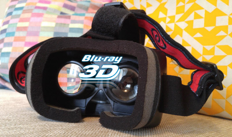 Rip and View 3D Blu-ray on Homido Virtual Reality Headsets