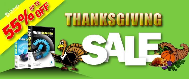 Thanksgiving Gifts Bombing: Save Up to 55% OFF or Win Giveaway Products