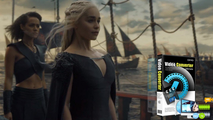 Remove protection code and Play Game of Thrones Season 6 Blu-ray on macOS High Sierra
