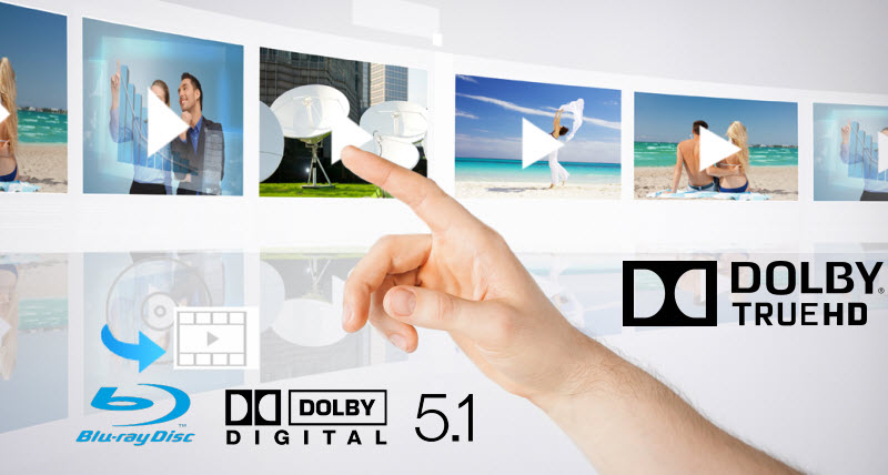 Keep Dolby Digital 5.1/Dolby TrueHD 7.1 in Blu-ray ripping
