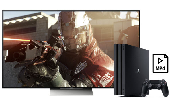Solution on PS4/PS4 Pro MP4 Playback issue