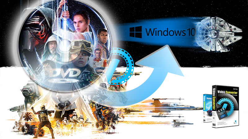 DVD Ripper for Windows 10: Convert Rogue One DVD in Windows 10