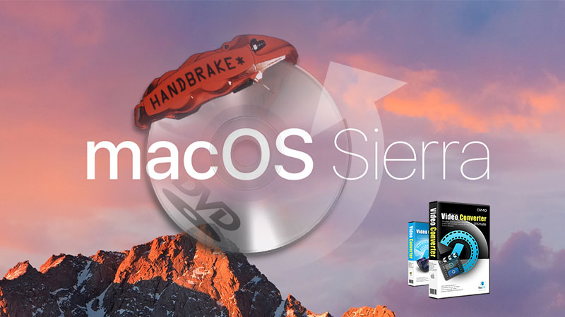 Best 5 Handbrake macOS Sierra Alternatives to convert video