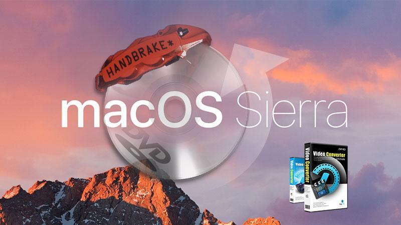 Best 5 Handbrake macOS High Sierra Alternatives to convert video