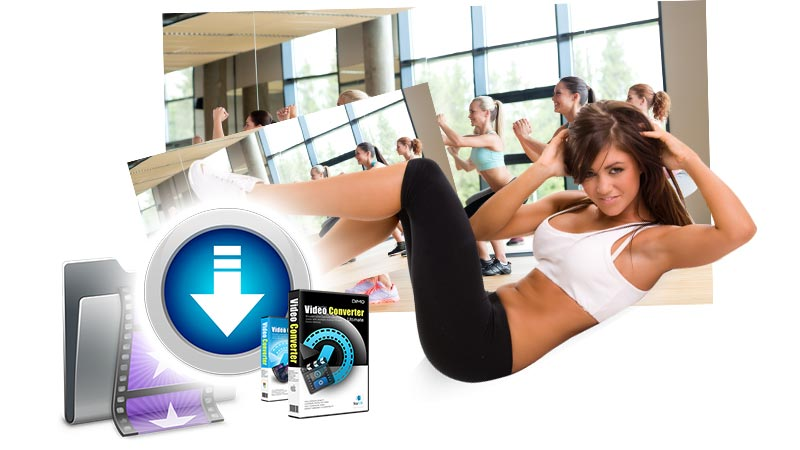 How to Exercise at Home - Free Download Aerobic/Cardio Workout Videos in Any Formats