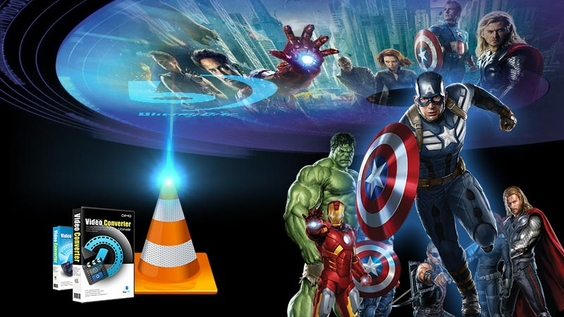 VLC to Blu-ray Tutorials: How to Play Blu-Ray Movies with VLC Player without Hassles?