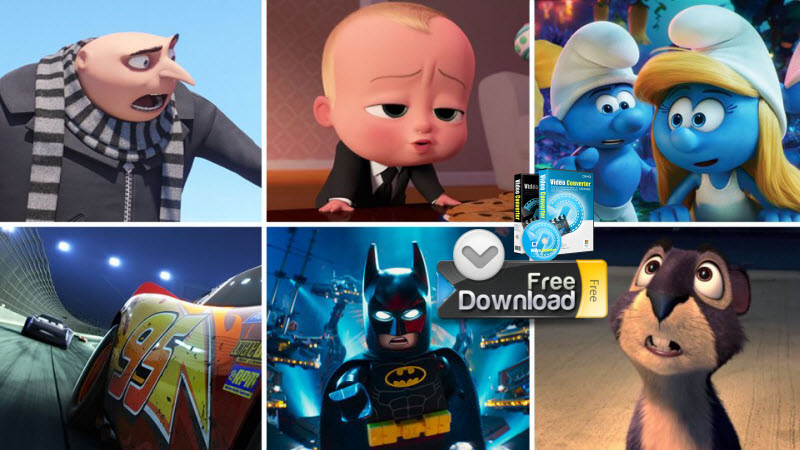 Top animated movies for kids from Disney and Dreamworks