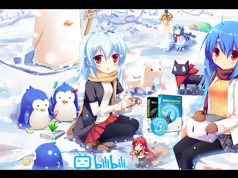 Bilibili Downloader- Download anime/movie/music videos from Bilibili