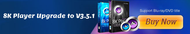 8K Player version 3.5.1 Released to support Blu-ray/DVD title mode