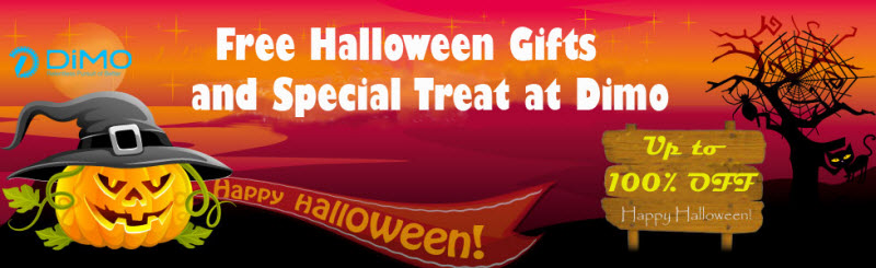 2017 Halloween Gift - Free Giveaway and Up to 67% Halloween Discount