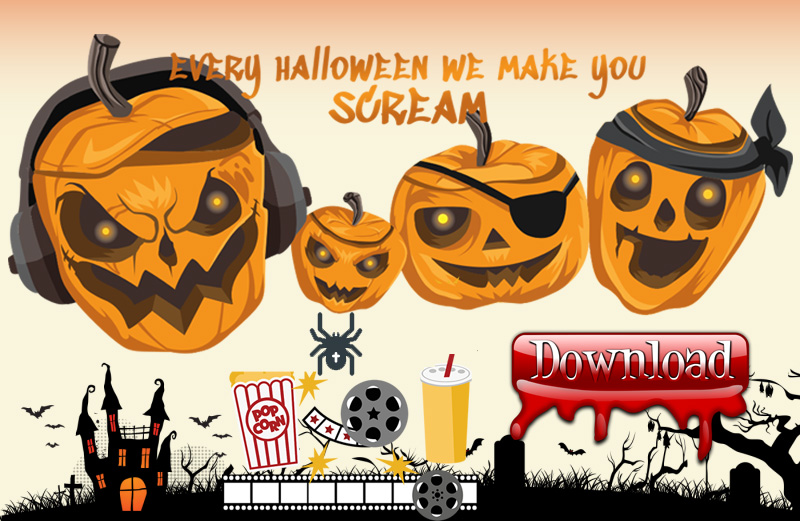 How to download online Halloween videos/songs/movies