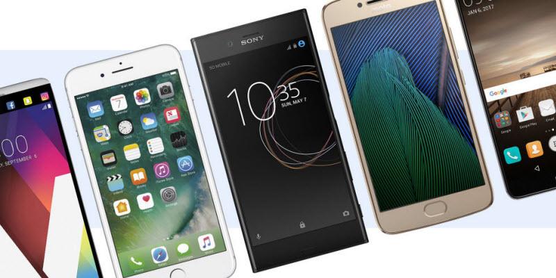 Top 10 Phones: 2017 Top Rated Smartphones of All-around