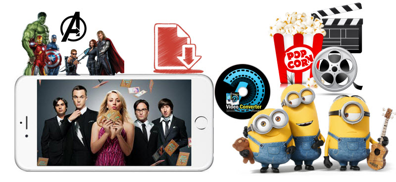 How to Download Movies to iPhone (X/8/7/SE/6S) format
