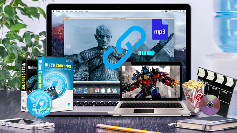 How to transfer URL videos/music to MP3 on PC or Mac