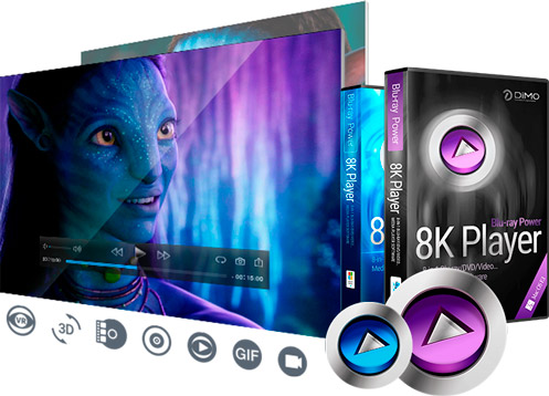8K Player for Mac function