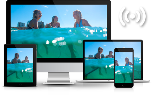 Mirror and Share Video Wirelessly