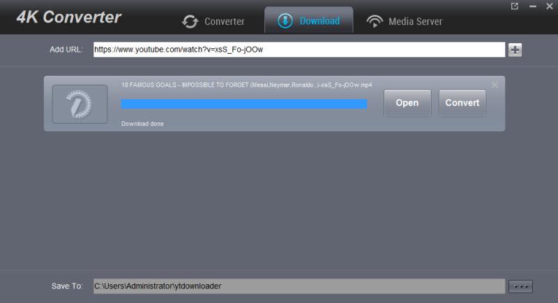 4K Video Converter - Encode/Downscale 4K 2160p files