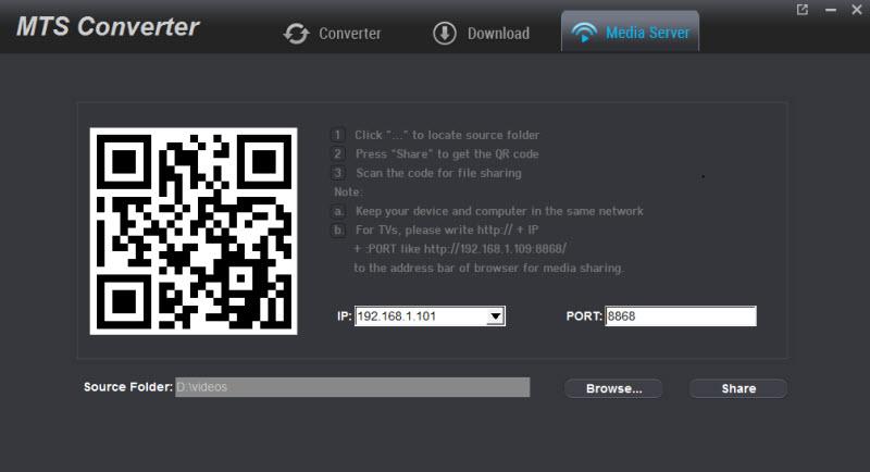 MTS Converter - Transcode/Convert AVCHD (.mts/m2ts) files
